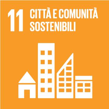 Goals 11 città e comunità sostenibili