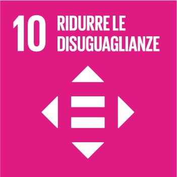 Goal 10 Ridurre le disuguaglianze
