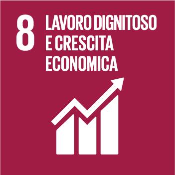 Goal 8 Lavoro dignitoso e crescita economica