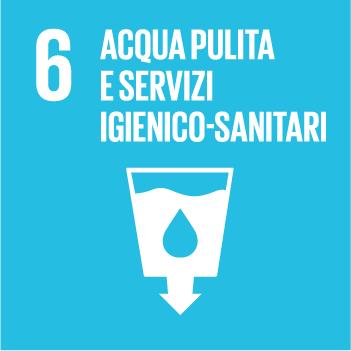 Goals 6 Acqua pulita e servizio igenico-sanitari
